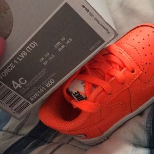 Nike AF1 Orange Low